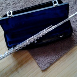 Silver Gemeinhardt 3SHB Open Hole Flute
