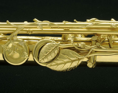 Solid 18k Gold Lunn Flute – The Dryad's Touch – Used Flute