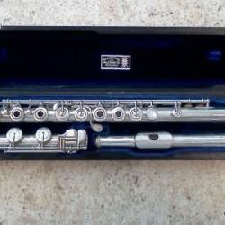 Haynes 1970\'s B Foot Flute – Used Flute