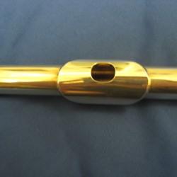 Handmade Powell Flute, Silver, Used Flute